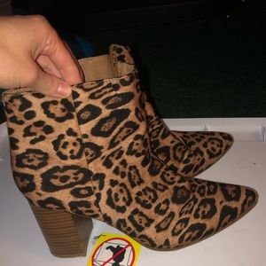 Shoes - Charming Charlie Cheetah Boots